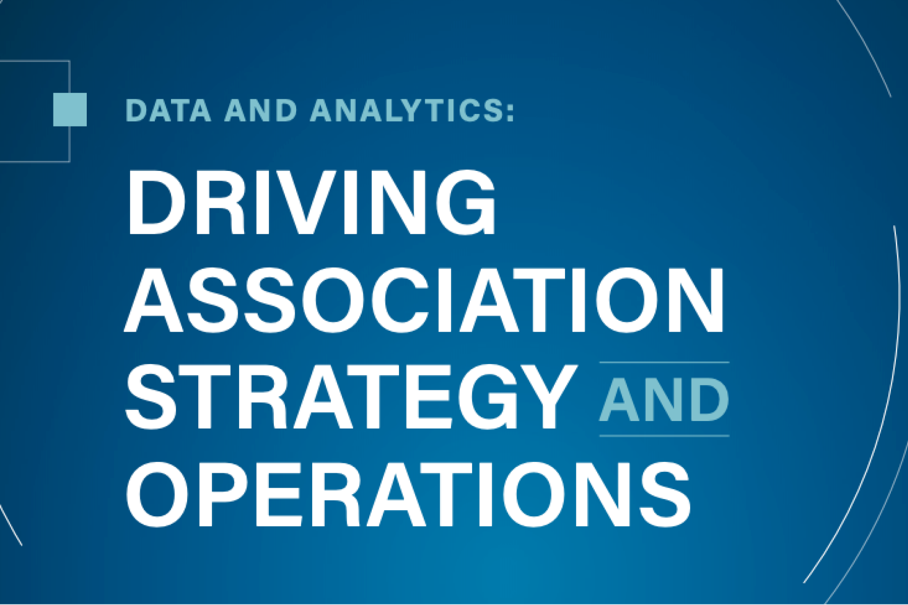 E-Book - Driving Association Strategy and Operations